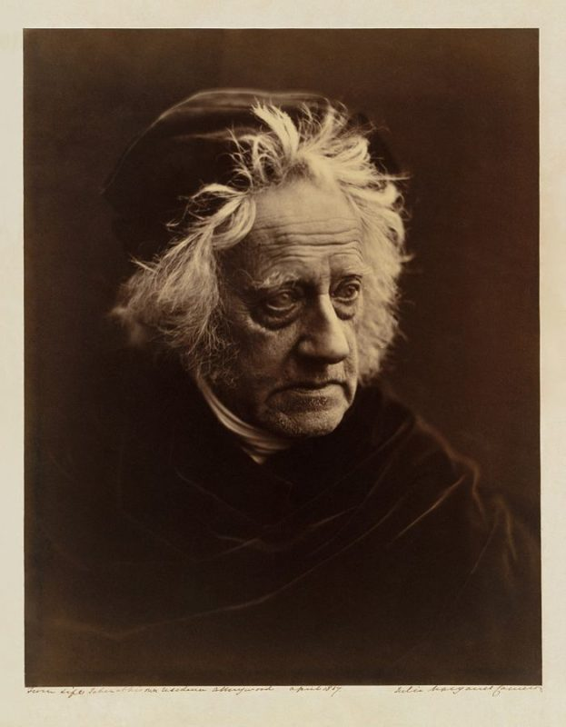 Julia Margaret Cameron - Sir John Herschel with Cap